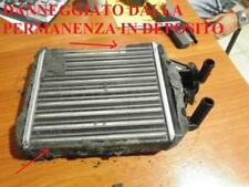 DANNEGGIATO RADIATORE STUFA RISCALDAMENTO FIAT PANDA 1° SERIE VA T674R MAI USA 3