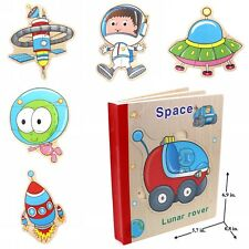 Educational Book Toy for Toddlers Baby Kids Children . Space book