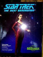 GEOMETRIC DEANNA TROI VINYL MODEL KIT, STAR TREK: THE NEXT GENERATION, NEW, MIB