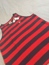 PLAY CLOTHS MUGGS TANK TOP RED/NAVY STRIPED SZ L !!! NEW !!!