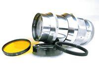 Silver JUPITER-11 KMZ 6321307 L39 lens Fed Zorki Leica *CLA'd*+ accessories CLA