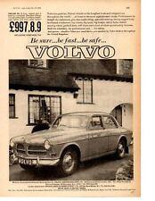 1964 VOLVO 121 ~ ORIGINAL PRINT AD