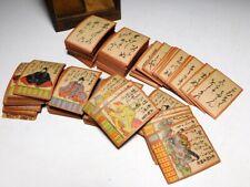 Ogura Hyakunin Isshu Waka poets 200 Card Game Japan Woodblock Print Antique