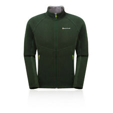 Montane Mens Neutron Jacket Top - Green Sports Outdoors Full Zip Hooded Warm