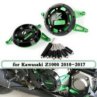 CNC Engine Stator Frame Slider Cover Protector Guard For Kawasaki Z1000 10-2017