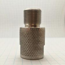Muzzle brake adapter female 1/2x20 UNF to male 1/2x28 UNEF, 16 mm flats