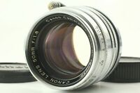 【Exc+5】 Canon 50mm f/1.8 Lens Leica Screw Mount L39 LTM Silver from JAPAN #1454