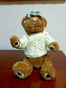 Tender Hearted Collectibles Shamrock St. Patrick's Day Bear - New With Tags