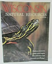 Wisconsin Natural Resources Magazine June 1995 Prairie Dogs Wild State Rivers