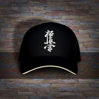 Japan Oyama Kyokushin Full Contact Karate Embroidered Cap Hat
