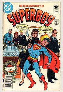 New Adventures Of Superboy #8 (VF+) (1980, DC) Sharp!