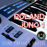 for ROLAND Juno-1 Original Factory and NEW Created Sound Library & Editors on CD