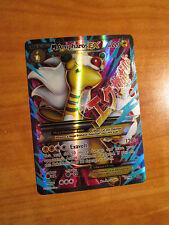 DMG FULL ART Pokemon Mega M AMPHAROS EX Card ANCIENT ORIGINS Set 88/98 X and Y