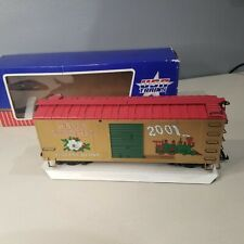 USA Trains G Scale R13019 Merry Christmas 2001 Reefer Train Car in Box