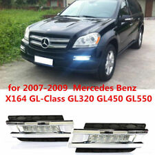 Fit 2006-09 Mercedes X164 GL-Class 12W High Power LED DRL Daytime Running Lights