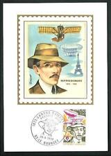 Francia 1973 : Santos Dumont , Pioniere del volo - cartolina filatelica