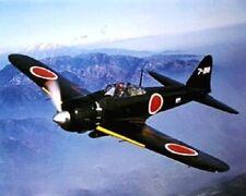 JAPANESE ZERO PLANE  16 X 20 INCH ART PRINT POSTER MILITARY PLANE