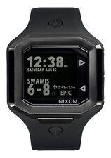 NEW NIXON THE ULTRATIDE Men's Watch 45mm | ALL BLACK | A476 001
