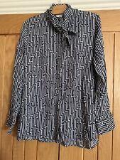 H&M X Anna GP & J Baker Shirt Top - Size 12/14 (42)