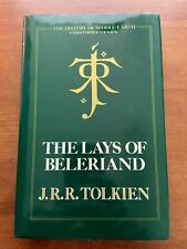 The Lays of Beleriand - JRR Tolkien - Hardback - Excellent