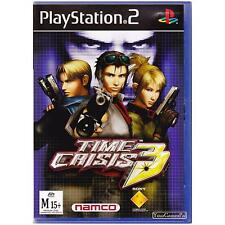 PLAYSTATION 2 TIME CRISIS 3 PAL PS2 [UVG] YOUR GAMES PAL