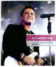 Canciones Para Un Paraiso En Vivo (CD/DVD) by Alejandro Sanz