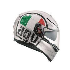 Caschi AGV argento moto per la guida di veicoli