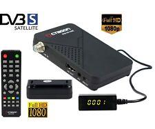 Digital Sat Receiver HDTV HDMI AV USB 1080p DVB-S2 USB mit Kartenleser FULL HD