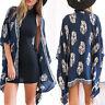 Womens Beach Bikini Swimwear Cover Up Kaftan Swimsuit Summer Loose Mini Dress