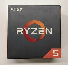 AMD Ryzen 5 1600X R5-1600X 3.6GHz Base / 4.0 Boost 6Core 12T AM4 CPU Processor