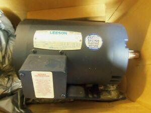New Leeson C145T34DB2B 3PH AC Electric Motor 3Hp 3450 RPM 208-230/460V G145T