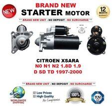 Para Citroen Xsara N0 N1 N2 1.8D 1.9 D Sd Td 1997-2000 Motor De Arranque Nuevo 11 dientes