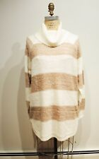 Jordache Women's Long Sleeve Pullover Turtle Neck Hi Lo Sweater Size XL/TG