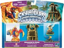 Skylanders Spyro's Adventure Pack Dragons Peak coup de soleil WINGED BOOTS Sparx-Entièrement neuf sous emballage