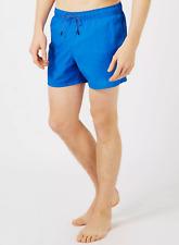 Topman Washed Blue Swim Shorts XXS-XS TD098 SS 12