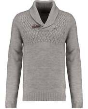 Men's V Neck Chunky, Cable Knit Knit Wool Blend Jumpers & Cardigans