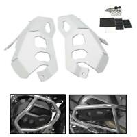 Silver Cylinder Head Guard Protector Cover For BMW R1200GS R1200R/RS/RT 2013+