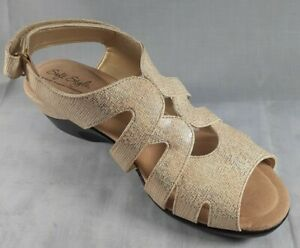 """SOFT STYLE BY HUSH PUPPIES WOMEN'S """"PATSIE""""  SANDALS, NEW SHOES W/Box SZ 10"""