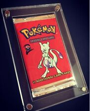 Pokemon Sealed WOTC Booster Pack Magnetic Acrylic Display Case