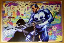 Punisher Graffiti Marvel Comics Poster by Mike Zeck