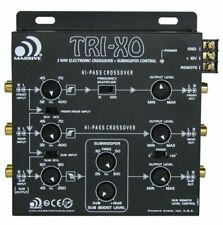 Massive Audio TRI-XO 3 Way Active Electronic Crossover w/ Subwoofer Control