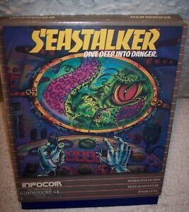 Seastalker (1982, Commodore) Infocom Not Complete