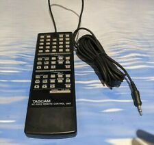More details for tascam rc-d302 wired remote control for da-302 dual dat