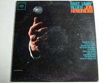 JON HENDRICKS FAST LIVIN' BLUES 6 EYE RARE PROMO MONO COLUMBIA LP CL 1805 OOP