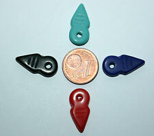 4 X bohemian talhakimt beads