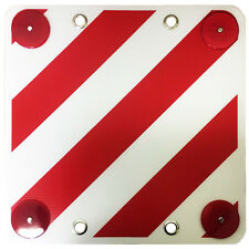 REAR WARNING SIGN REFLECTOR SAFETY SIGNAL  bike rack motorhome caravan