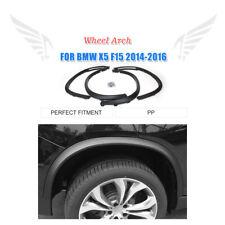 4pcs PP Wheel Arch Side Fender Flares Eyebrow Molding Trim for BMW X5 F15 14-16