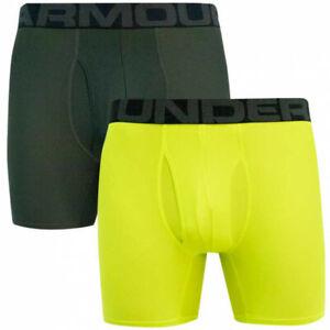 Under Armour Men's Tech 6-inch Boxer shorts 2-pack Underwear XS S M XL XXL