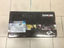 Toner Lexmark C522 (C5220CS) CIANO originale (NO compatibile) - Original new
