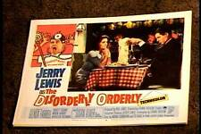 DISORDERLY ORDERLY 1965 LOBBY CARD #8 JERRY LEWIS